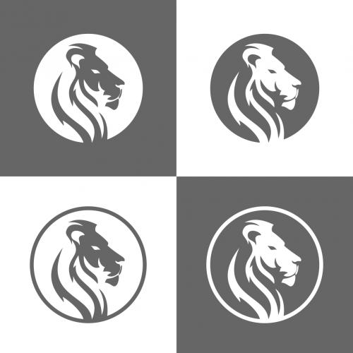 Edles Logo-Design für Verkauf von Aktien und Versicherungen