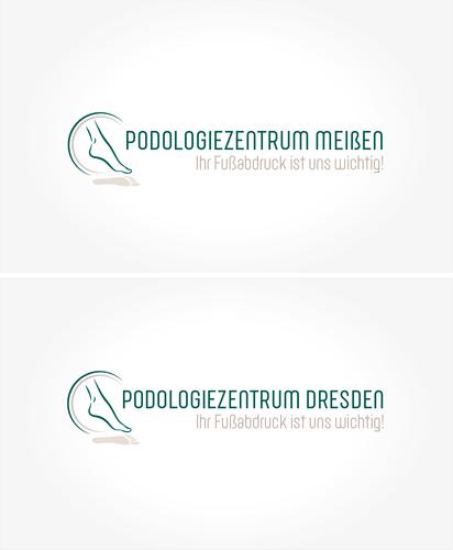 Logo & Visitenkarte für podologische & kosmetische Fußpflegen