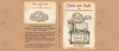 Buch-Cover für Vorlesebuch - Oma und Jule