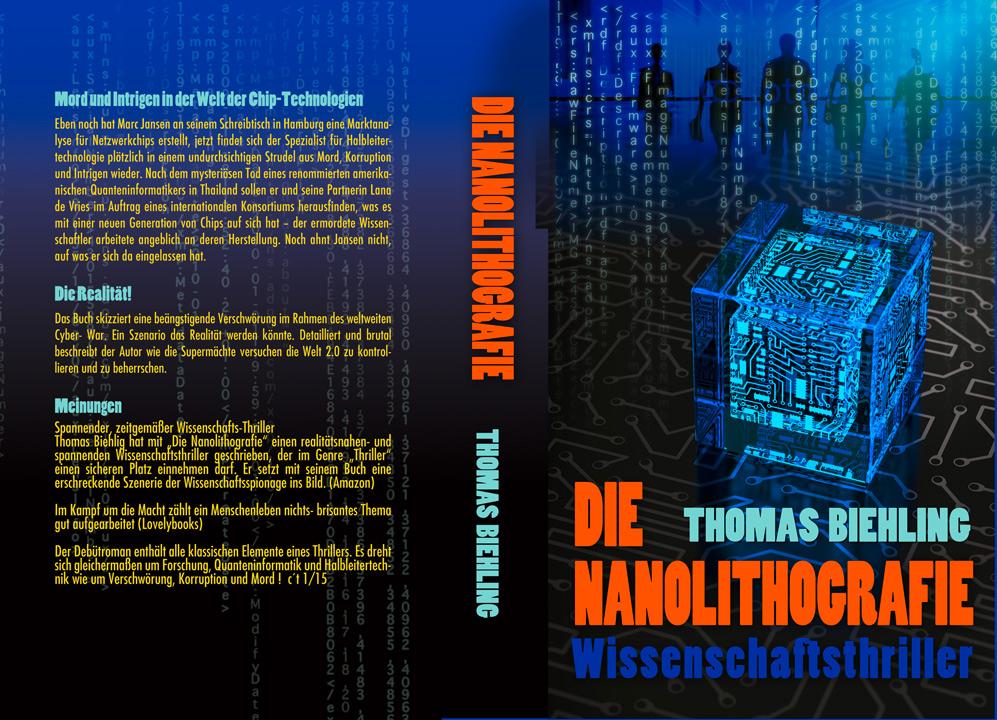 Die Nanolithografie - ein Wissenschaftsthriller sucht ein tolles Buchcover