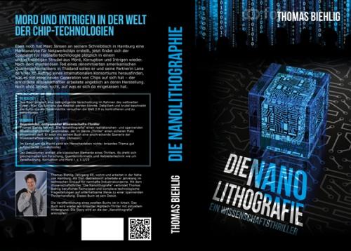 De nanolithografie - een wetenschap thriller zoekt een geweldige cover van het boek