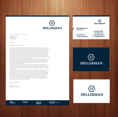 Corporate Design für Online Händler Hellerman