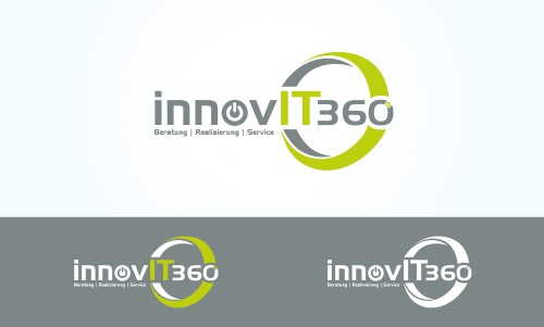 Logo-Design für Anbieter für ganzheitliche 360° IT-Infrastruktur Lösungen