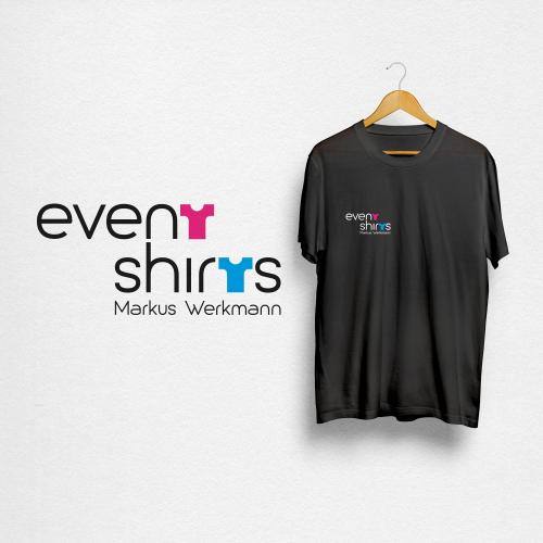 Logo-Design für Eventshirts