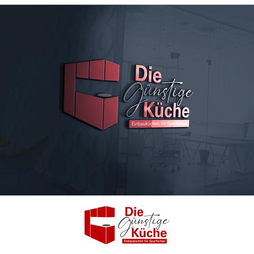 Logo & Visitenkarte für Hersteller von Einbauküchen