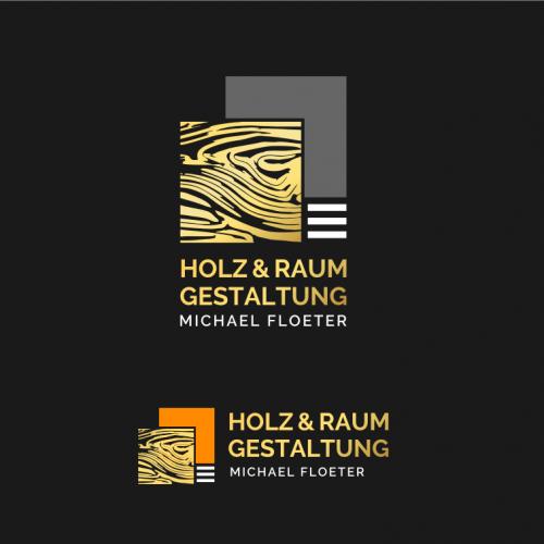 Logo-Design für Holz- und Raumgestaltung
