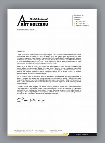 Layout Für Offerten Geschäftspapiere Designenlassenat