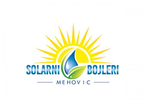 Logo-Design für Solarheizungsanlagen.
