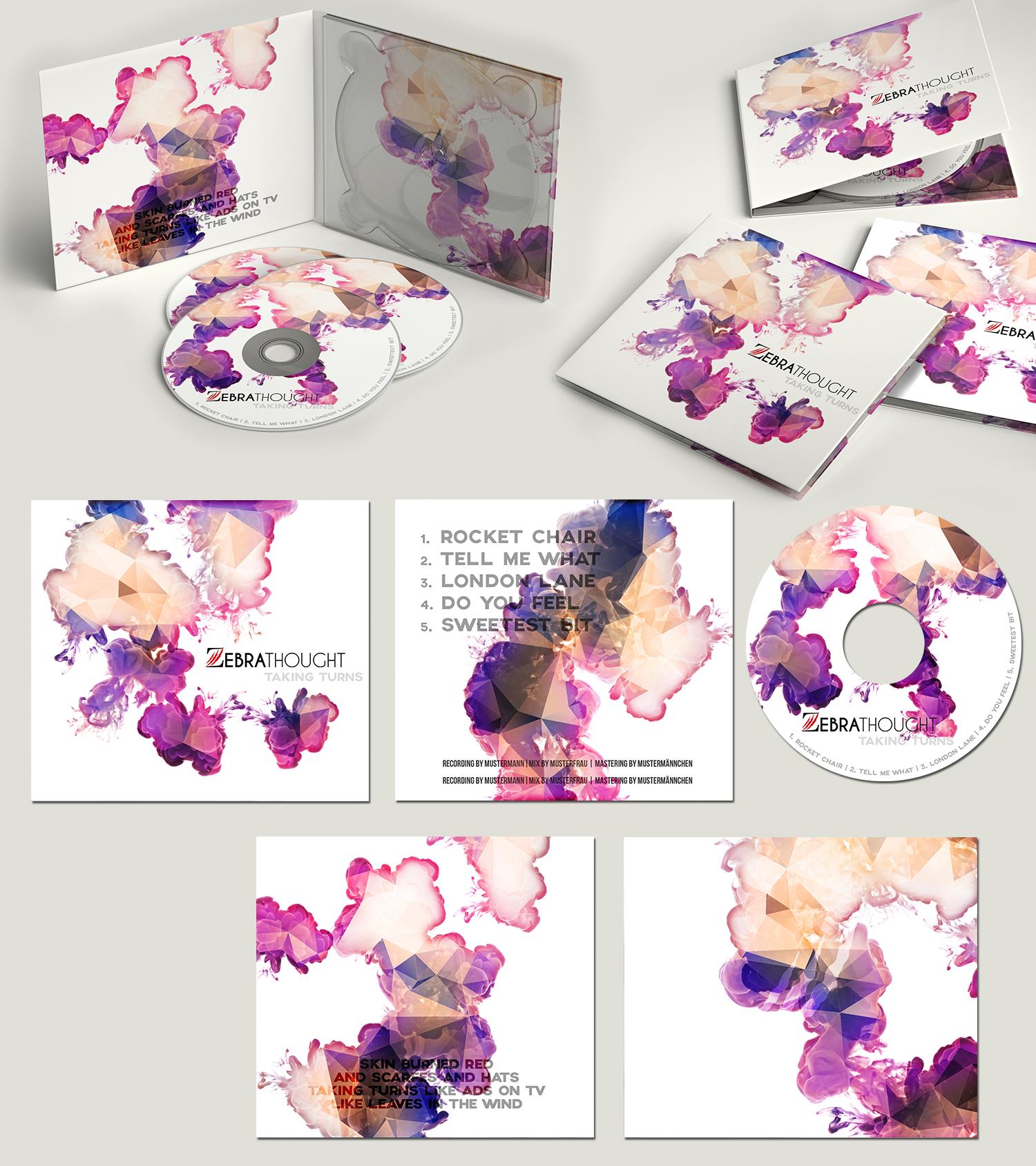 CD Cover für junge Pop Rock Band » CDAlbum cover