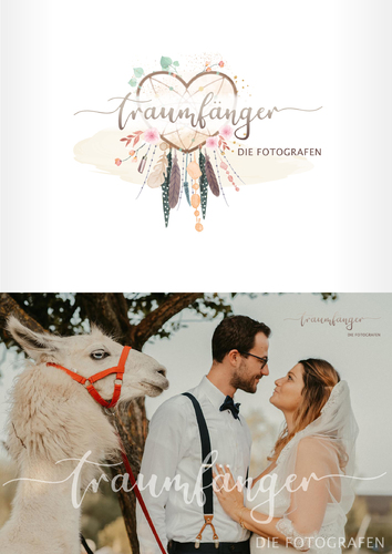 Logo-Design für Hochzeitsfotografie