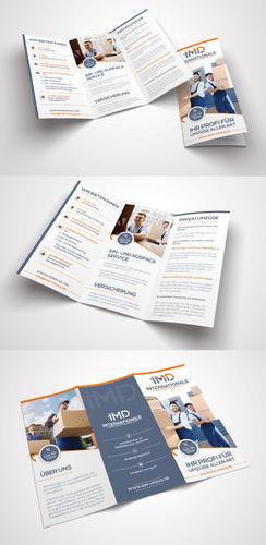 Flyer-Design für Umzugsfirma