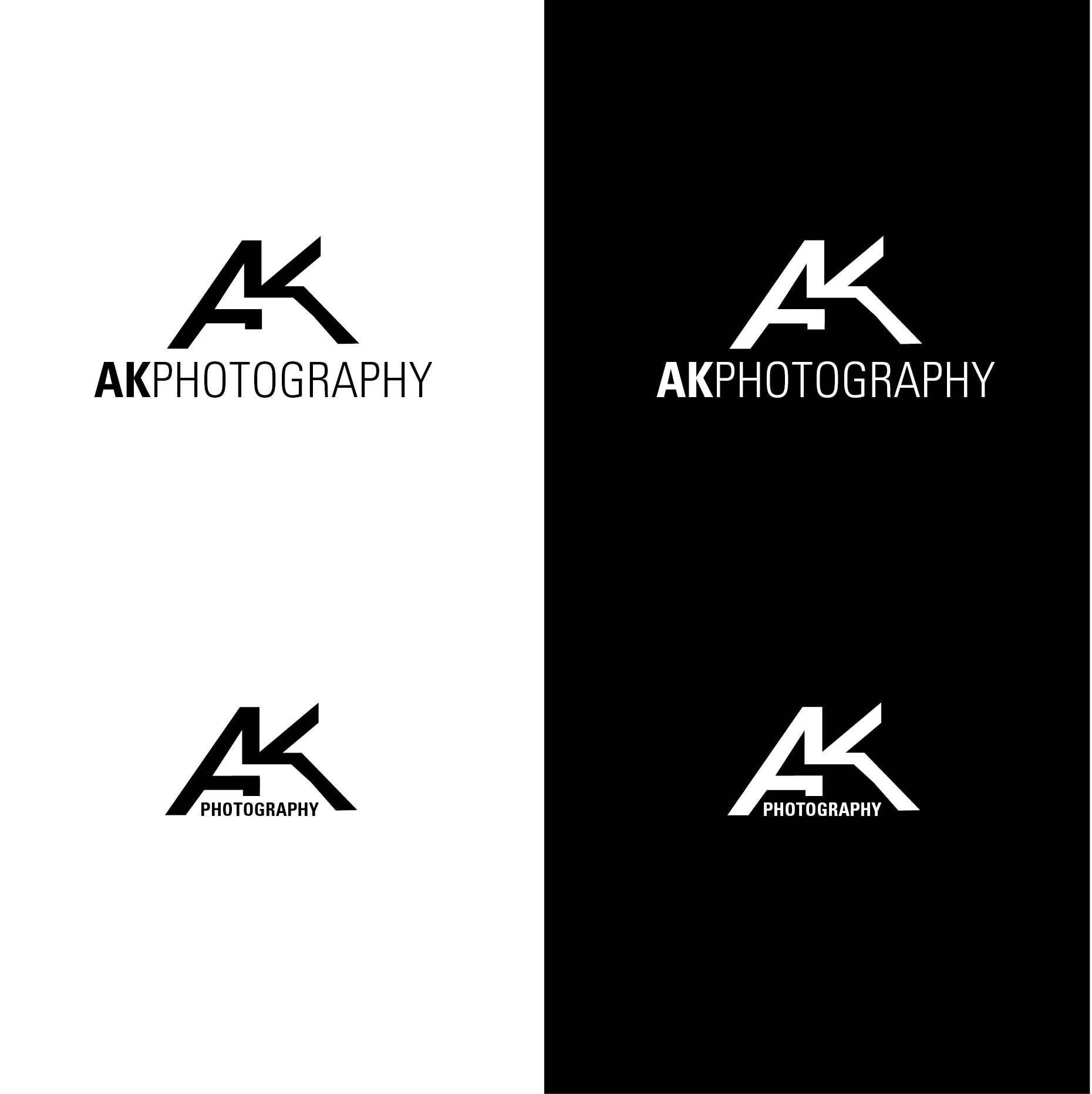 Ak Photography Logo Design Designonclick Com