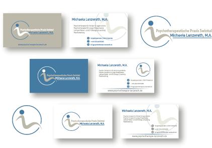 Logo-Design für Psychotherapeutische Praxis