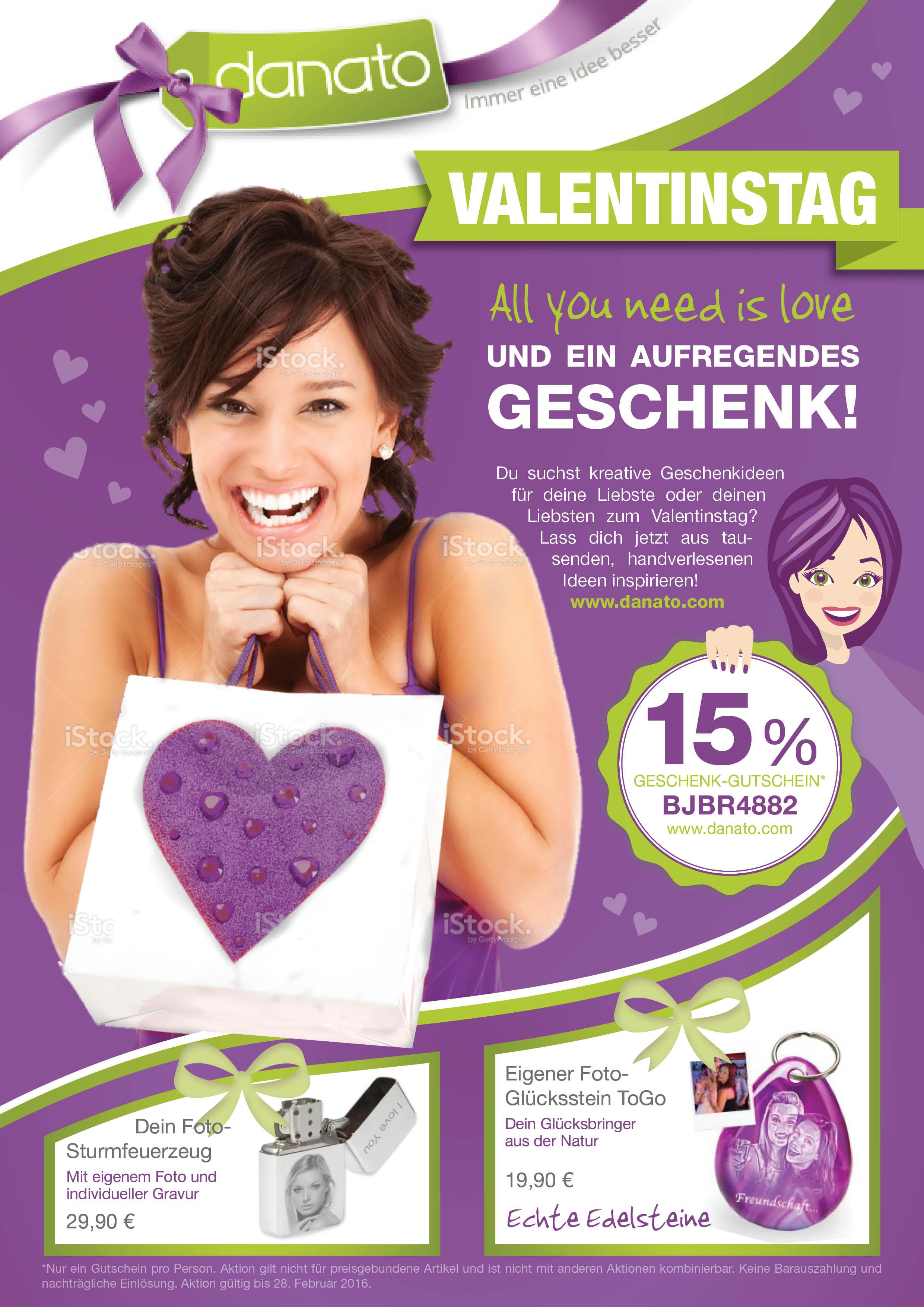 Danato Com Weihnachten.Print Anzeige Für Valentinstag Anzeigenr Design