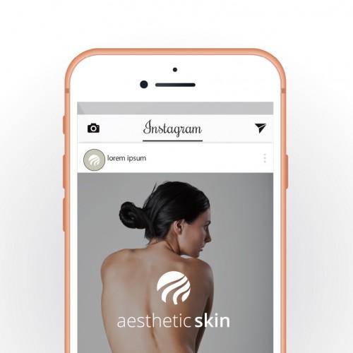 Logo-Design für Behandler von Hautproblemen