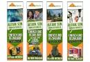 Werbebanner für Partnerprogramm im Outdoor/Survival-Bereich
