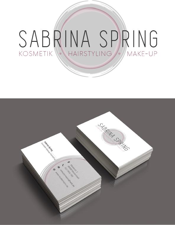 Logo Design Und Visitenkarten Für Kosmetik Und M Logo