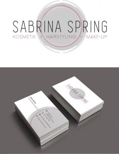 Logo-Design und Visitenkarten für Kosmetik und Makeup Institut
