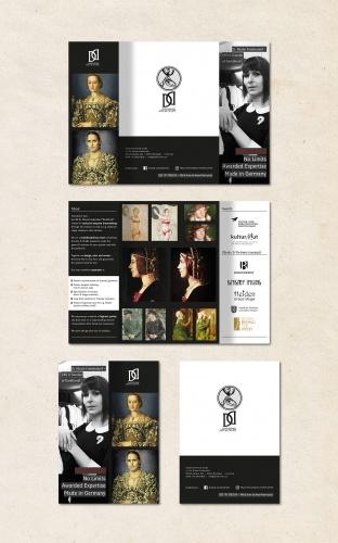 Flyer Design für ein Kostüm- und Show Atelier