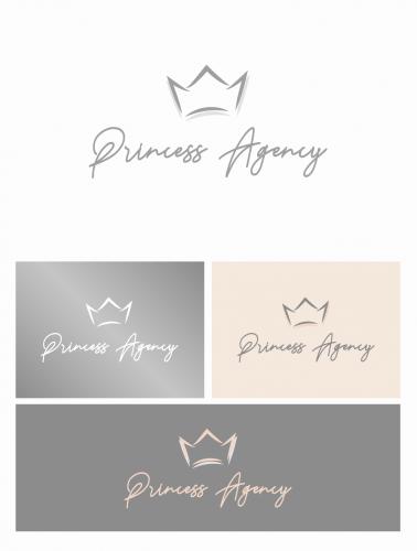 Logo-Design für Prinzessinnenvermittlung