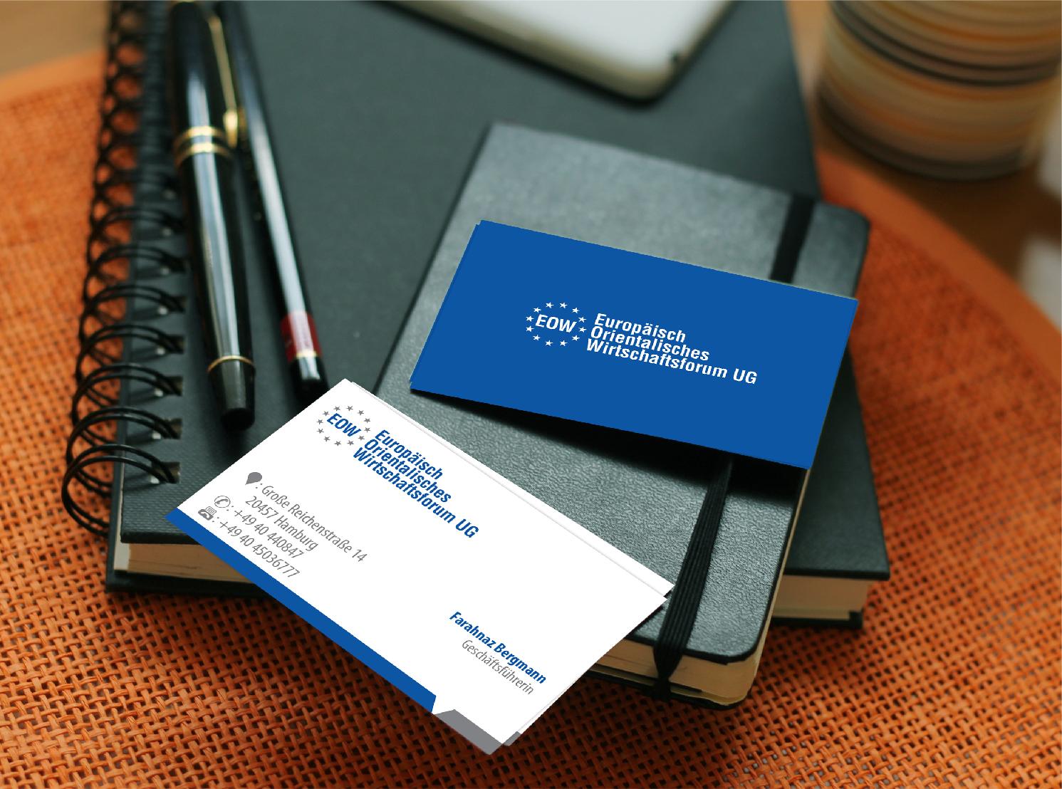 Visitenkarten Design Für Unternehmensberatung
