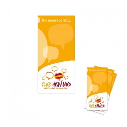 Hintergrund Design für Flyer und Plakate für Spanischschule