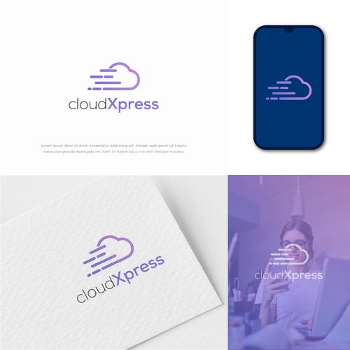 Logo-Design für Anbieter von Hostingleistungen