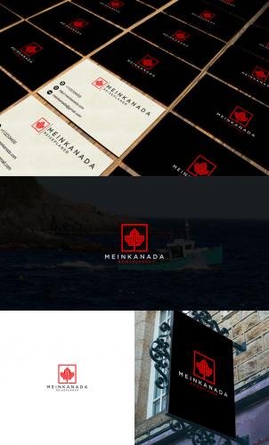 Logo für Reisewebsite zum Thema  Kanada