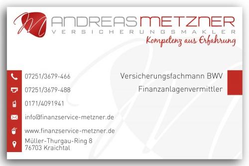 Briefpapier und Visitenkarten für Versicherungsagentur