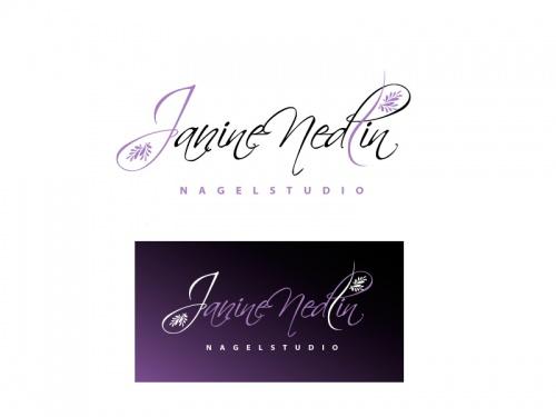 Nagelstudio Janine Nedlin Logo Design Briefing