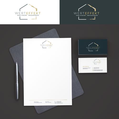 Corporate Design für selbstständige Dienstleisterin im Immobilienbereich