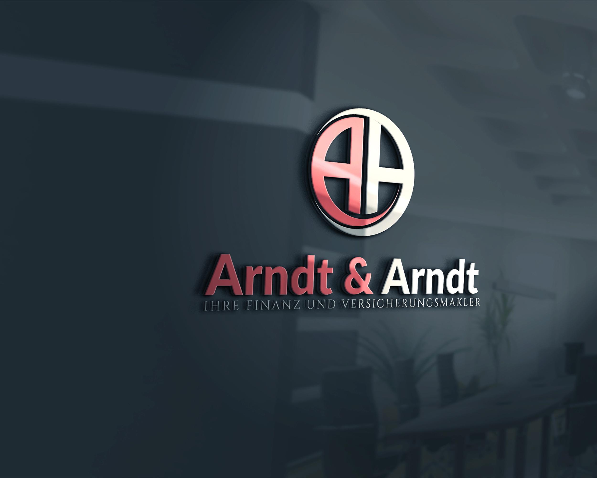 Das Entwerfen Eines Logos Für Versicherungsmakle Logo