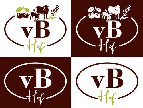 Logo-Design für kleinen familiären Landwirtschaftsbetrieb
