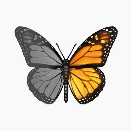 Logo Schmetterling Butterfly