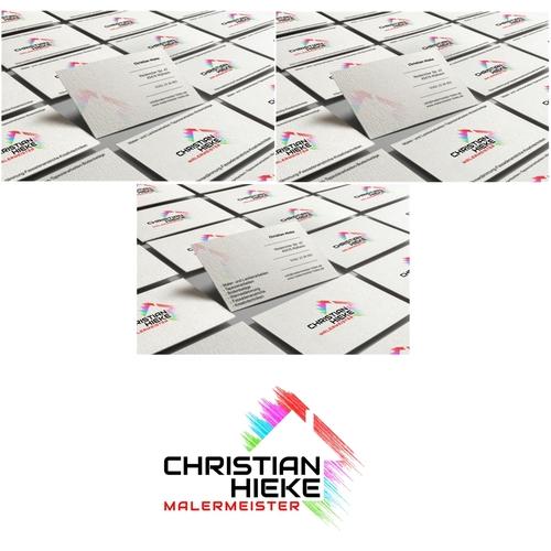 Modernes, zeitloses Logo & Visitenkarten-Design für Malermeister