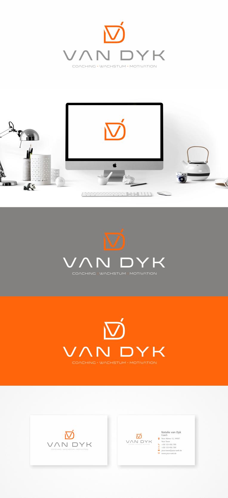 Logo Visitenkarte Für Coaching Für Firmen Logo