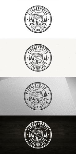 Logo-Design für Gaststätte an einem schönen kleinen See