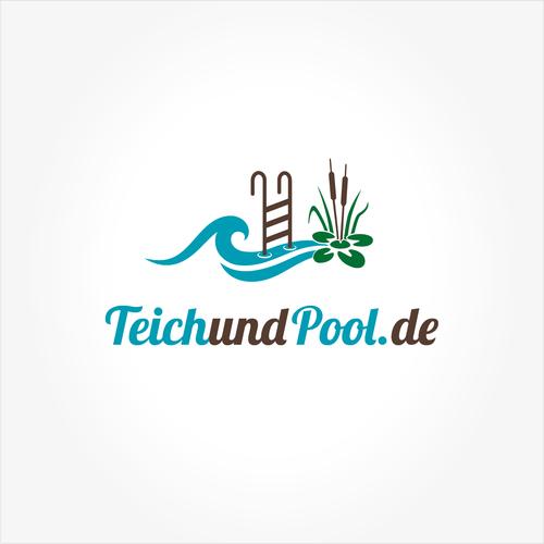 Logo-Design für Online-Handel von Teich- & Poolartikeln