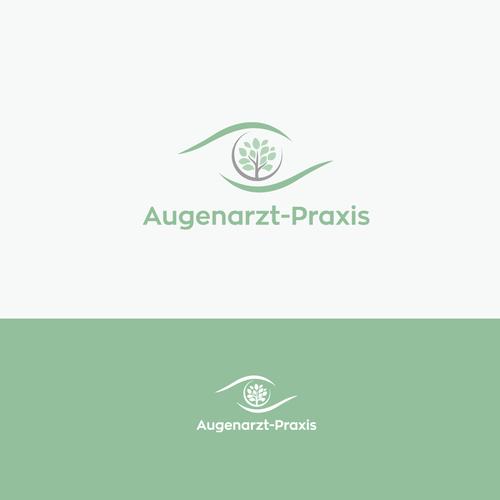 Logo-Design für Augenarzt-Praxis
