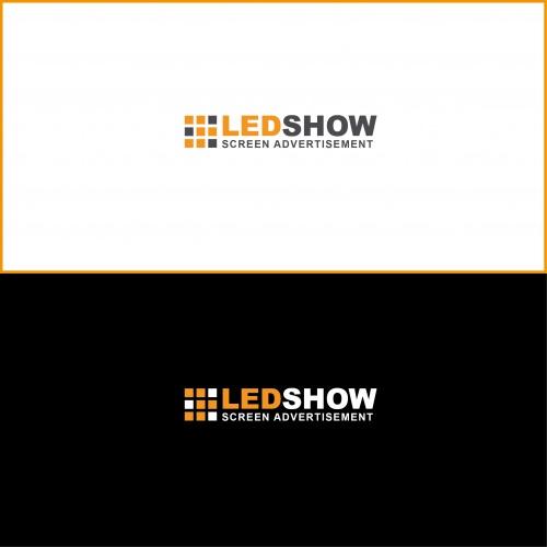 Logo-Design für LED-Screen-Werbeflächen-Vermietung