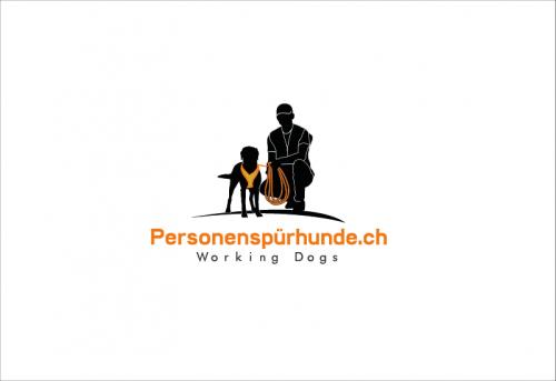 Personenspürhunde suchen Logo