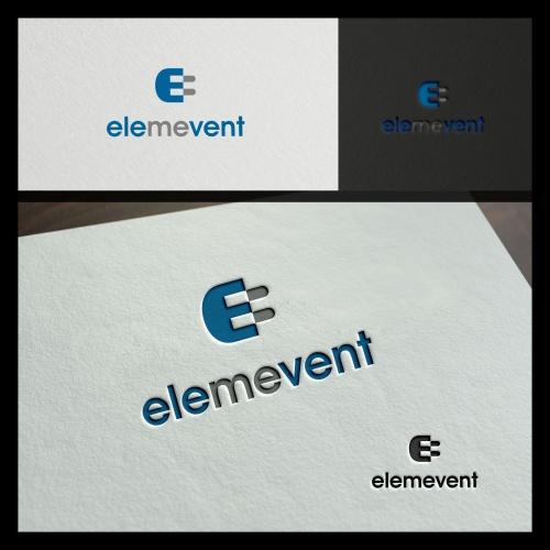 Logo-Design für elemevent GmbH