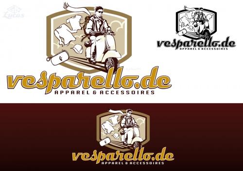 Logo für Vespa-Onlineshop