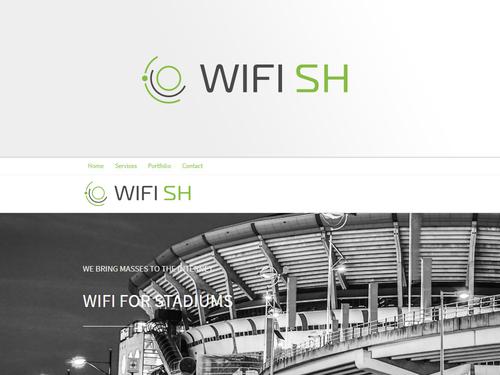 Unternehmen für WLAN-Verbindungen benötigt Logo-Design