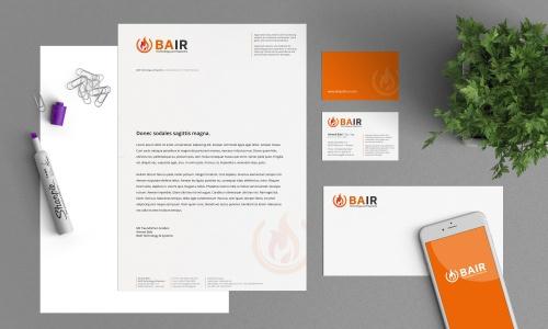 Corporate Design für Beratung, Vertrieb von Produkten und Systemen an Industriebranchen