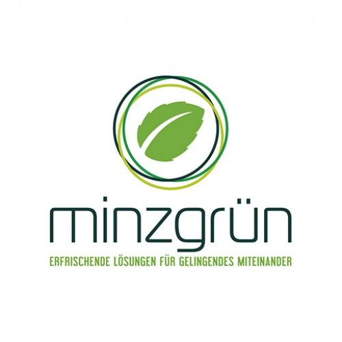 Erfrischendes Logo für *minzgrün* gesucht!
