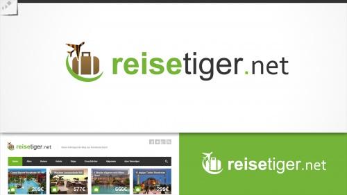 Logo für einen Reiseblog