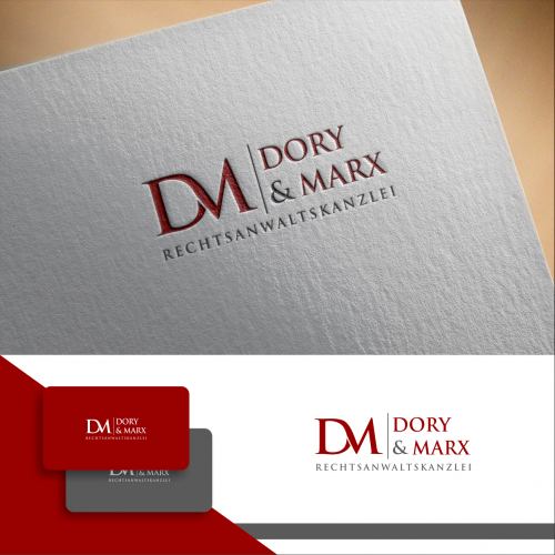 Logo-Design für moderne Rechtsanwaltskanzlei
