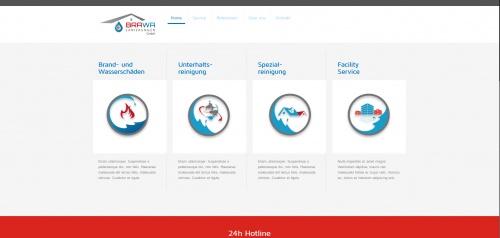 Icon-Design für Brawa Sanierungen GmbH