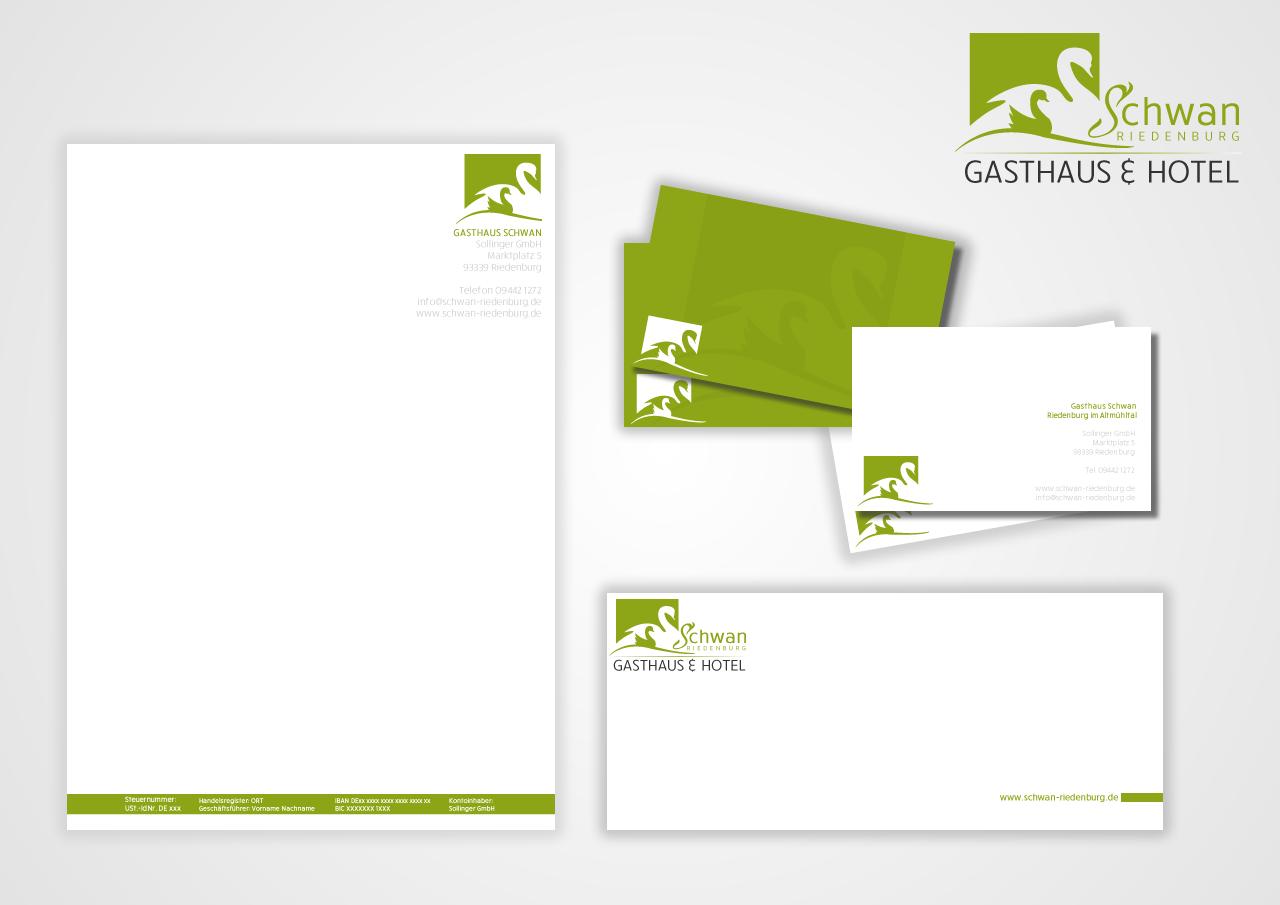 Briefpapier Und Visitenkarten Für Bayerisches Ga